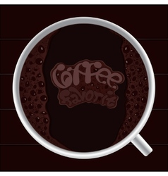 Favorite coffee vector image