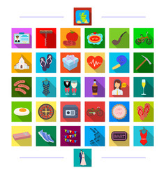 Game travel investigation and other web icon vector