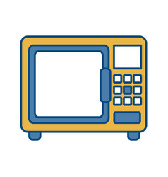 microwave icon image vector image vector image