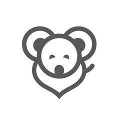 Mouse simple sign vector