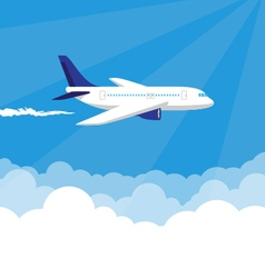 Plane in the Sky vector