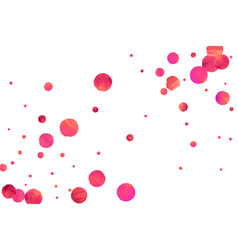 red confetti background vector image