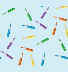 seamless texture pencil vector image
