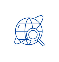 study line icon concept study flat symbol vector image