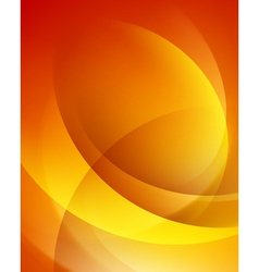 Colorful smooth twist light lines background vector image vector image