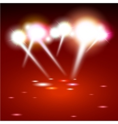 spot lighting background vector image vector image