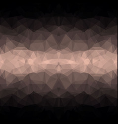 abstract dark polygonal background vector image