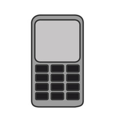 cellphone mobile phone technology vector image