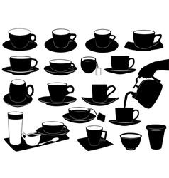 Cups Set vector