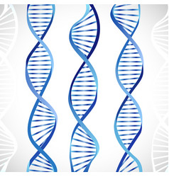 dna metallic ribbon vector image