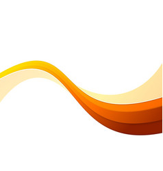 orange swoosh vector images over 1 000 rh vectorstock com nike swoosh vector swoosh vector art