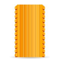 lasagne pasta icon cartoon style vector image
