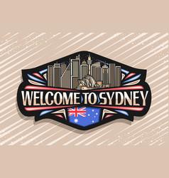 Logo for sydney vector