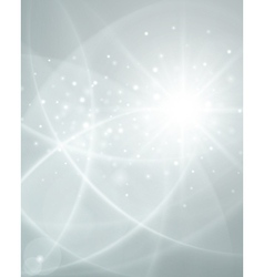 White smooth twist light lines background vector
