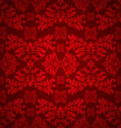 floral gothic background vector image vector image