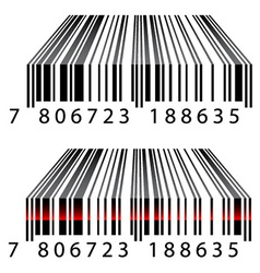 3d barcodes vector image