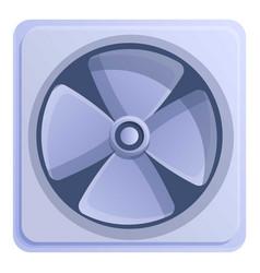 Building ventilator icon cartoon style vector