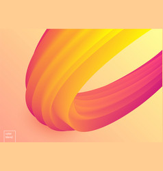 colorful mellow wave vector image