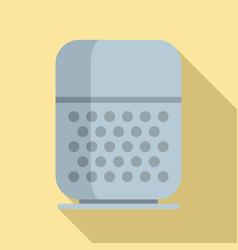 Command smart speaker icon flat style vector