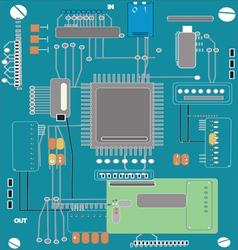 Computer Board vector