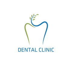 Dental clinic design template vector