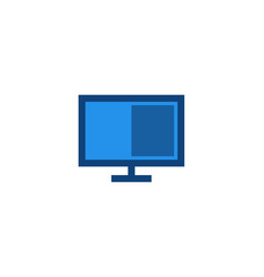 digital computer flat designs design inspiration vector image
