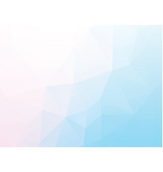 light blue geometric background vector image