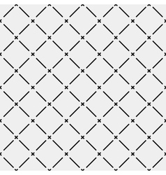 Pattern geometric seamless monochrome minimalistic vector