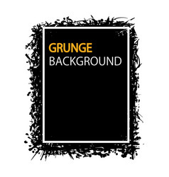 grunge background hand draw for your business vector image