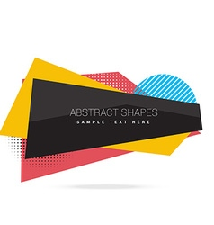 Abstract frame background vector