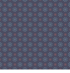 Blue Graphic Seamless Pattern On Blue Background vector image