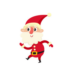 Cute santa claus cartoon vector