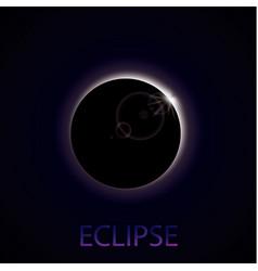Eclipse sun vector