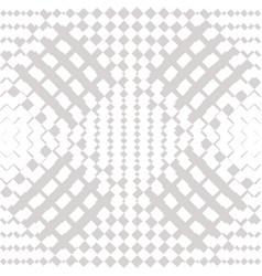 geometric checkered seamless white pattern vector image