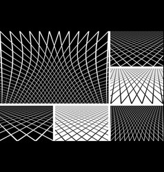 Lines patterns vector