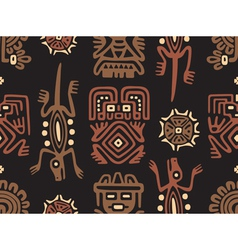 Mexican Pattern Seamless Tile vector image