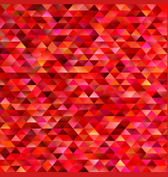 red geometrical abstract triangle mosaic vector image