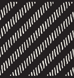 seamless geometric pattern monochrome black and vector image