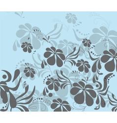 Spring Summer colorful flower background vector image