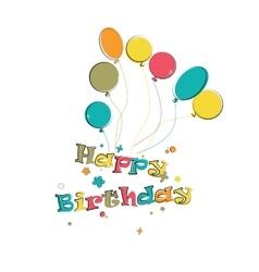 Phase happy birthday vector image