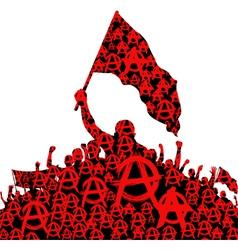 anarchy vector image vector image