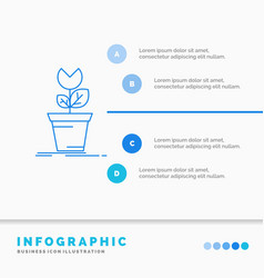 Adventure game mario obstacle plant infographics vector