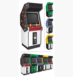 arcade games vector image