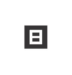 B block logo vector