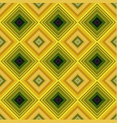 colorful repeating diagonal square mosaic tile vector image
