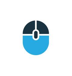 computer mouse colorful icon symbol premium vector image