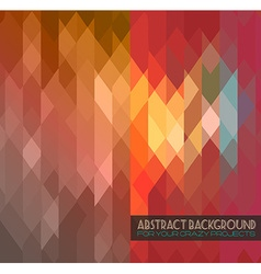Disco club flyer template Abstract background vector image