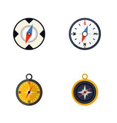 Flat icon orientation set divider navigation vector