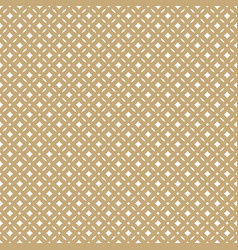 golden abstract seamless floral pattern vector image