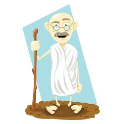 Indian guru vector